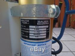 Bauer Dive Compressor Yanmar Diesel Breathing Air Scuba, Painball, Industrial