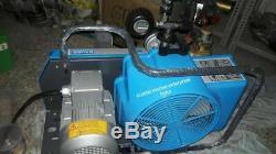 Bauer Junior 2 Breathing Air Compressor 225bar good condition year 2005