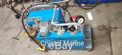 Bauer Junior Breathing Air Compressor 225 bar good working condition