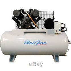 BelAire 6312H 208 230-Volt 10-HP 120-Gallon Horizontal Electric Air Compressor