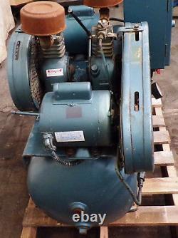 Buckeye Boiler Horizontal Air Compressor 4131, 30 Gallon, 1/3hp, 1ph