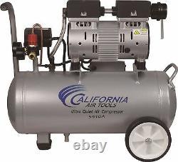 CALIFORNIA AIR TOOLS 5510A Ultra Quiet & Oil-Free Air Compressor USED