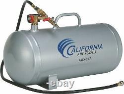 CALIFORNIA AIR TOOLS AUX05A (5) Gallon Aluminum Auxiliary Air Tank