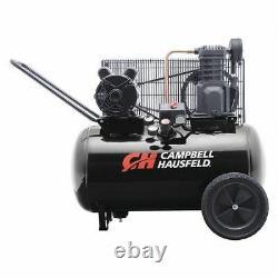 CAMPBELL HAUSFELD VT6183 Air Compressor, 20 gal, 1 Stage 2HP/1PH