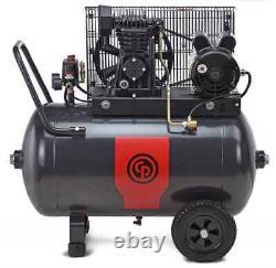 CP RCP-2024H 2Hp 24Gallon Horizontal 115/230V 1PH 1Stage Portable Air Compressor