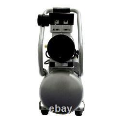 California Air Tools 1 HP 4.7 Gal. Oil Stationary Air Compressor CAT-4710SQ New