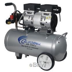 California Air Tools 5510A 1 HP 5.5 Gal. Aluminum Air Compressor CAT-5510A New