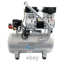 California Air Tools Quiet Flow 4.7 Gal. 1.0 HP Portable Electric Oil-Free Air