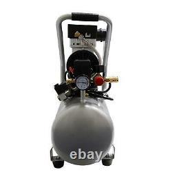 California Air Tools Quiet Flow 4.7 Gal 1.0 HP Portable Electric Oil Free Air
