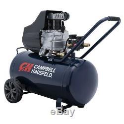 Campbell Hausfeld 13 Gallon 1.3 HP Horizontal Oil-lube Air Compressor DM