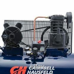 Campbell Hausfeld 3.7-HP 30-Gallon (Belt-Drive) Cast-Iron Air Compressor 230