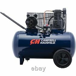 Campbell Hausfeld Air Compressor 3.2 HP, Oil Lubricated Pump, Model# VT6271