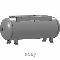 Campbell Hausfeld Air Compressor Receiver Tank- 60 Gallon Horizontal AR8036