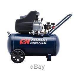 Campbell Hausfeld Electric Air Compressor 13 Gal Portable 125PSI Oil Lubricated
