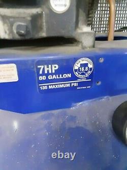 Campbell Hausfield 7 HP 80 Gal. Local Pickup, NO SHIPPING