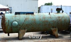 Carrier 17QA23 1572-Gal Air Compressor Storage Tank Shell-THK7/16 Horizontal