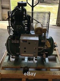 Champion Air Compressor HR2-3 Two Stage 30 Gallon Tank 3 Phase 220/440 V