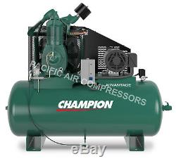 Champion Air Compressor Hra15-12 Fully Packaged 15 Hp, 3 Phase 230v 7100e15fp