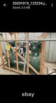 Champion Double 10 HP 230V 3-Phase (HR 10D-25)