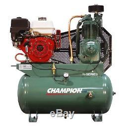 Champion Hgr7-3h 13hp Honda Gas Powered Air Compressor Belaire 3g3hh