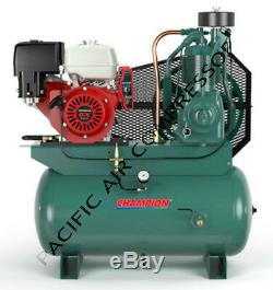 Champion Service Truck Air Compressor Hgr7-3h 13hp Honda Gas 23.2 Cfm, 175psi