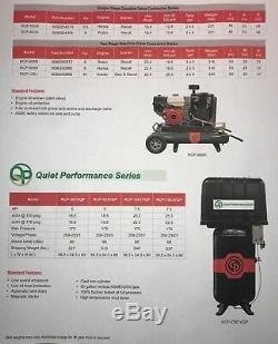Chicago Pneumatic 20 HP Air Compressor Two Stage Electric Duplex Rcp-20123d