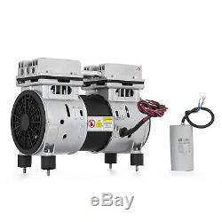 Coin Operated Compressor Air Machine Gas / Pump Horizontal Oil-less 50-150PSI