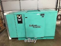 Commercial Air Compressor 50 HP Sullivan Palatek 50UD