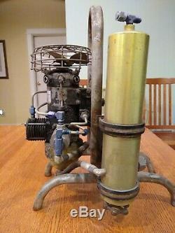 Cornelius 1500 psi. 4 cfm 24V DC Air Compressor 32 R 500 Warbird WWII SCUBA Navy