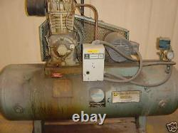 Curtis 80 Gal Horizontal Air Compressor 220 Volts 3 Ph