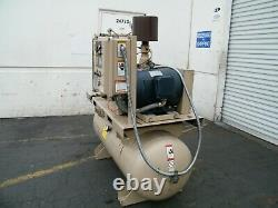 Curtis R/S 30 hp rotary screw air compressor ingersoll rand kaeser quincy