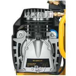 DEWALT 1.1 HP 4 Gallon Oil-Lube Hand Carry Air Compressor D55151 New