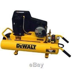 DEWALT 1.9 HP 8 Gal. Twin Tank Wheelbarrow Air Compressor DXCMTA1980854 New