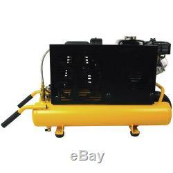 DEWALT 5.5 HP 8 Gal. Wheelbarrow Compressor with Honda Engine DXCMTB5590856 new