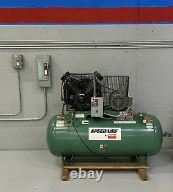 Dayton Air Compressor 120 Gal Tank, 10 Hp, Very Low usage Great Condition