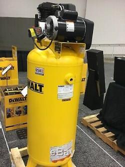 DeWALT DXCMLA3706056, 3.5HP 60 Gal, Vert, 155 PSI, 11.5CFM, 1-Phase 230VOLT