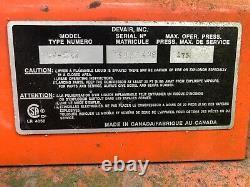 Devair 15 HP 120 Gallon Industrial Horizontal Air Compressor Baldor 1760RPM