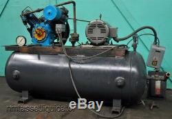 Dresser 5 HP Two-stage 80 Gallon Horizontal Air Compressor
