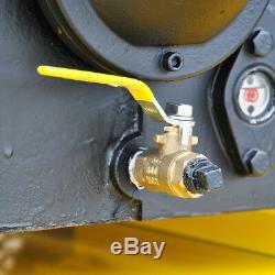EMAX EP07H080V1 7.5 HP 80 Gallon Industrial Plus Horizontal Air Compressor