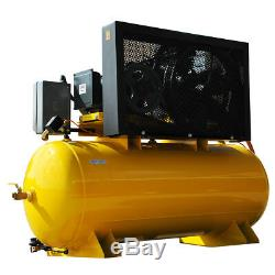 EMAX EP10H120Y1 7.5 HP 120 Gallon Industrial Plus Horizontal Air Compressor