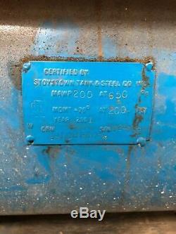 Emglo Model J Twin Pump 24 Cfm 5Hp 230/460V 3Ph Horizontal Air Compressor