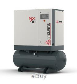 FS-Curtis NxB-11 15-HP 80-Gallon Rotary Screw Air Compressor