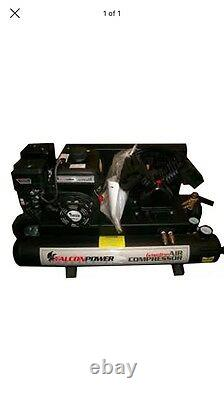 Falcon Power Industrial Air Compressor, Gas/gasoline, 2-4 Gallon Tanks, Gac250