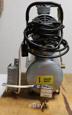 GAST 1HAB-11T-M100X 2-Gallon Compressed Air System