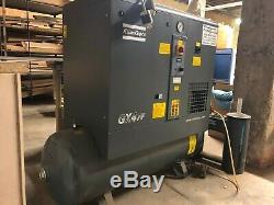GX4FF Atlas Copco 5 hp single phase rotary screw air compressor
