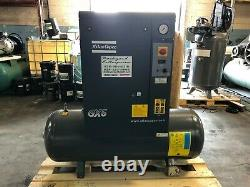 GX5 Atlas Copco 7.5 hp three phase rotary screw air compressor