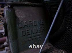 Gardner-Denver 3HP Two-Stage Air Compressor 3-Ph 230/460V Aftercooler