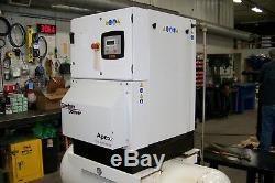 Gardner Denver APEX5-15A Rotary Screw air Compressor year 2016 120 gal tank