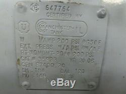 Gardner Denver CASRSA28 2 Stage Air Compressor 120 Gal Horizontal 10Hp 34.8 CFM