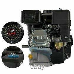 Gas Engine For Honda GX160 7.5HP 210cc OHV Air Cooled Horizontal 170F Pullstart